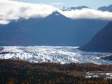 展望台からのマタヌスカ氷河