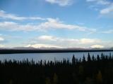 ウィロー湖のパノラマ