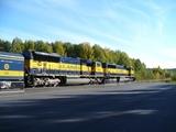 デナリスターの重連機関車