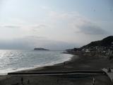 稲村ガ崎からの江ノ島
